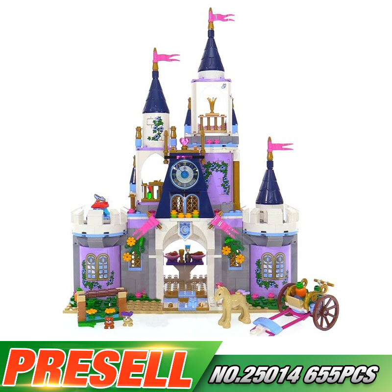 Lepin 25014 New Toys 655Pcs Movie Series The 41154 Dream Castle Set building Blocks Bricks Educational Funny Toys For Kids Gifts<br>
