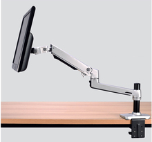 Aluminum Alloy Desktop Clamping Mechanical Spring Monitor Holder Arm Free Lifting Full Motion TV Mount Max.Loading 10kgs(China)