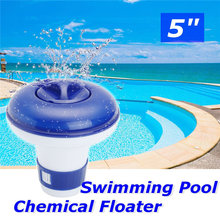 "Swimming Pool 5"" Floating Chemical Dispenser Floater Chlorine Tablet Tabs Spa Pool Cleaners Pool & Accessories"