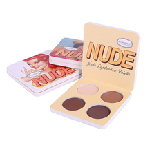 New Brand Makeup Matte Eye Shadow Palette 4 Colors Nude Minerals Powder Pigments Shimmer Eyeshadow Make Up Palette
