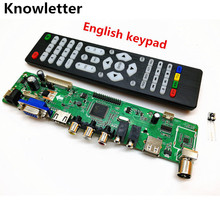 V56 Upgrade V59 Universal LCD TV Controller Driver Board PC/VGA/HDMI/USB Interface(China)