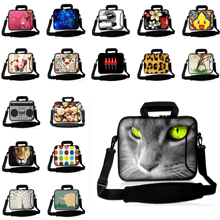 Wonderful Portable Tablet 10.1 New 12 13 14 15 17 Computer Accessories Laptop Sleeve Messenger Carry Bag W.Shoulder Strap Retail