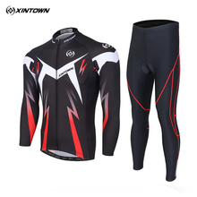 Buy XINTOWN Team Pro Cycling Jersey Sets Long Sleeve MTB Bike Clothes Wear Maillot Ropa Ciclismo Racing bib Pants Bicycle Clothing for $33.44 in AliExpress store