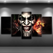 Artistic Print Drawing on Canvas HD Printed Home Decor Framed wall art up pictures Spray Oil Painting Decoration Clown AE0509(China)