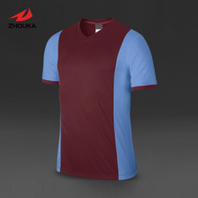 Custom Soccer Jersey tops Short-sleeve Quick Dry Top quality Adult Kids(China)