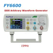 FT FY6600 15MHz Dual Channel DDS Function Arbitrary Waveform Generator/pulse source/Frequency Meter 14Bit 250MSa/s(China)