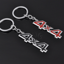 4X4 4WD Fashion Car Keychain Key Chain Key Ring Auto Keyring For Mercedes BMW Audi Honda Toyota VW Nissan Opel Lada Car Styling(China)