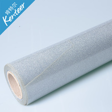 Q2-2 Kenteer multi glitter heat transfer vinyl good quality with 0.5*25m one roll(China)