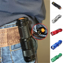 Mini LED Flashlight Q5 800LM Waterproof LED Laterna 3 Modes Zoomable Portable Torch Penlight