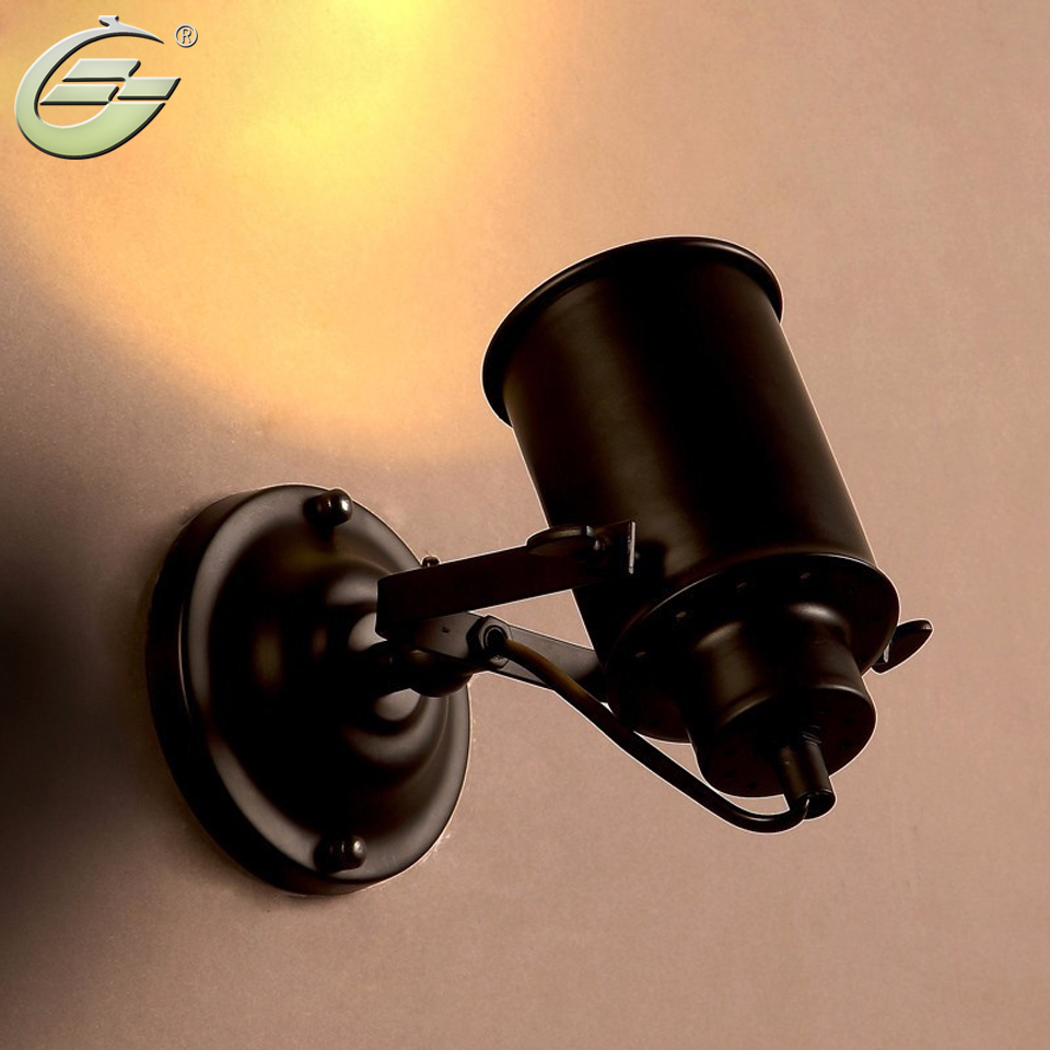 E27 vintage iron wall lamp Art Lights for Diningroom Bed Sconces Free Shipping<br><br>Aliexpress