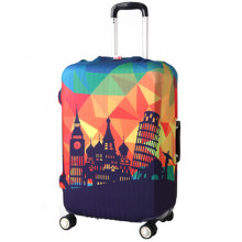 Fashion World/City/Christmas Design Luggage Covers 20/22/24/26/28/30' Elastic Travel Suitcase Trolley Dustproof Protector Cover