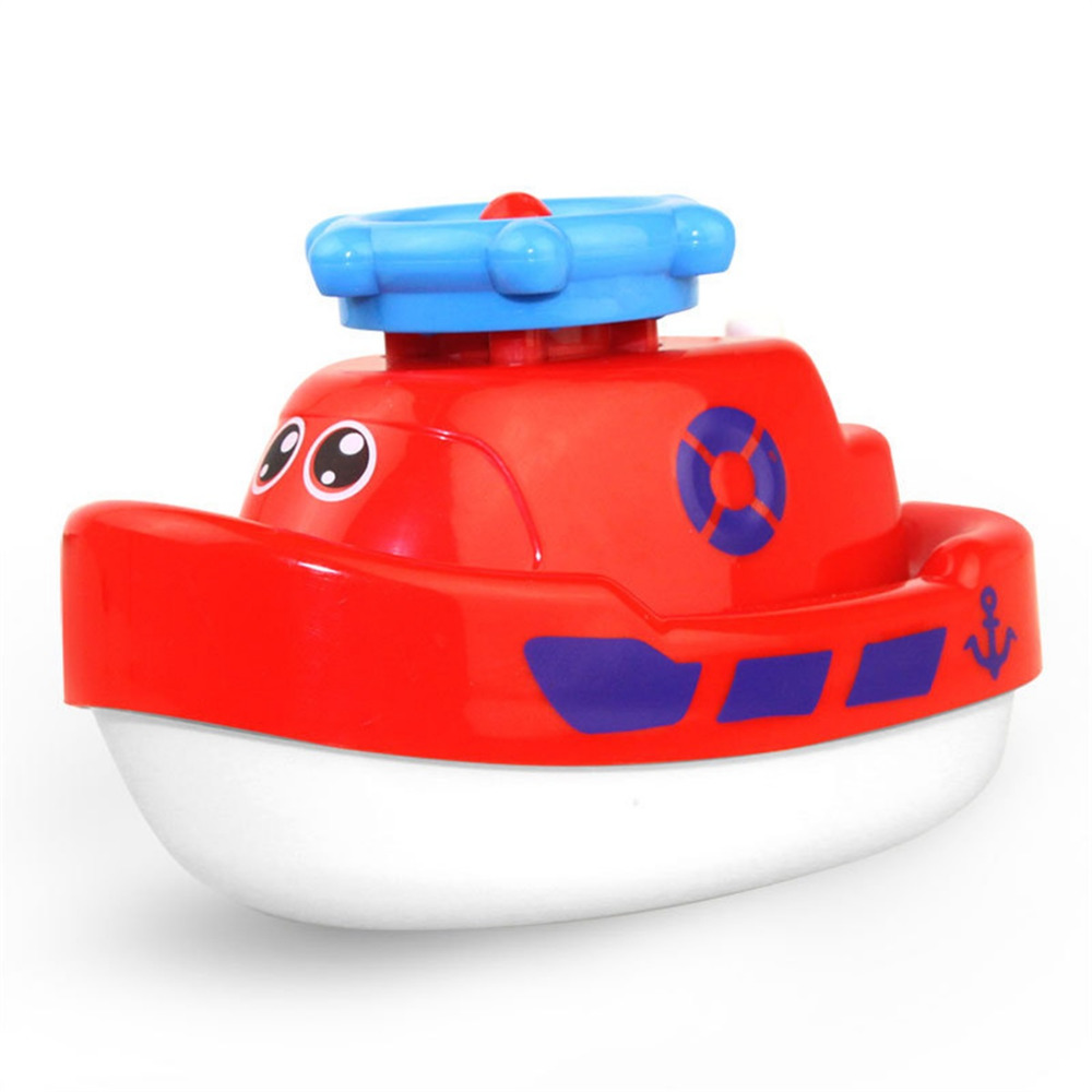 Rc Boats Children\'S Electric Rotating Water Jet Boat Toy Bathroom ...