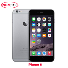 Unlocked iPhone 6 Original IOS Smartphone 4.7 inch Touch Sreen Dual Core LTE WIFI Bluetooth 8.0MP Camera Used Apple Mobile Phone