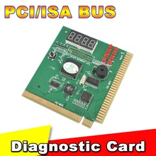 New Arrival PCI & ISA Motherboard Tester Diagnostics Display 4-Digit PC Computer Mother Board Debug Post Card Analyzer