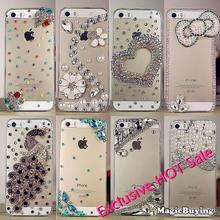 Shining Luxury 8 styles Rhinestone Case for Phone For iPhone 5s 5 Galaxy s5 note 3 phone Accessories 5s bling case diamond