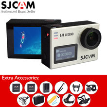 "Original SJCAM SJ6 Legend 4K WiFi Action Camera 2"" Touch Screen Sport DV+Remote Watch+Selfie Stick+Extended Mic+Many Accessories(China)"