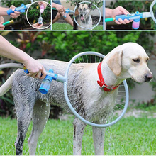 Pet Dog Cat Bathing Cleaner 360 Degree Shower Tool Kit Cleaning Woof Washer Bulb Head Perfect Dog Washing Tools