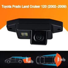 Free Shipping Back Up Camera  Prado Land Cruiser 120 Rear View Camera 2002-2009