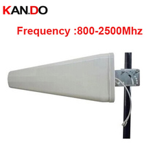 high quality 11dbi gain phone booster antenna 806-2500Mhz GSM LDP panel antenna WCDMA booster Logarithm Directional antenna