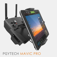 PGYTECH DJI Mavic Pro remote control Accessories 7-10 Pad Mobile Phone Holder aluminum Flat Bracket tablte stander Parts Spark