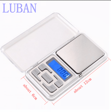 Electronic LCD Display scale Mini Pocket Digital Scale 200g*0.01g Weighing Scale Weight Scales Balance g/oz/ct/tl LUBAN