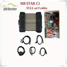 MB Star C3 Multiplexer best Star Diagnosis 2017 Diagnostic Tool detectors mb star c3 cable RS485 All New Relay star c3 free DHL(China)