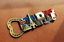 France Paris Landmarks Tourist Travel Souvenir 3D Metal Fridge Magnet Beer Bottle Opener(China)