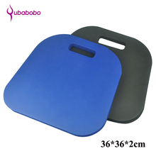 20mm NBR Unisex Yoga Cushion For Fitness Yoga Mats Sports and Fitness kneeling Pad small kneeling irregular shape Pads 36*36*2cm(China)