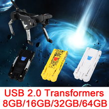 Creative Robot Dog USB Flash Drive 512GB USB 2.0 8GB 16GB 32GB Flash Card 2.0 Memory Stick Pen Drive 64GB 128GB Pendrive 256GB