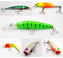 24 Colors For Choose Fishing lure Minnow Crankbait Pencil lures wobbler pesca artificial swivels hard bait Swimbait tackle