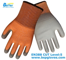 Glass Handling Safety Glove Metal Stamping Butcher Glove Aramid Fiber Anti Cut Work Glove