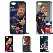 Sebastian Vettel Scuderia Ferrari Phone Case For Xiaomi Redmi Note 2 3 3S 4 Pro Mi3 Mi4i Mi4C Mi5S MAX iPod Touch 4 5 6(China)