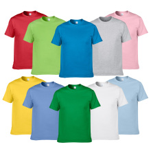 Buy Summer Style High 100% Cotton Solid Color T Shirt Men Pure color Tees Brand Short Sleeve t-shirt Male Clothing for $4.94 in AliExpress store