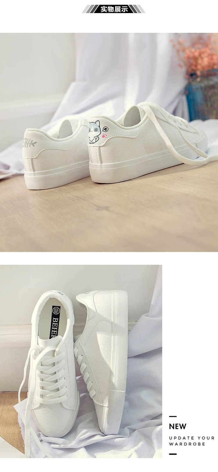 حذاء نساء لون ابيض 19