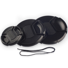 Camera Lens Cap Protection Cover 49mm/52mm/55mm/58mm/62mm/67mm/72mm/77mm/ Anti-lost Rope - No. ZIJIN-1 store