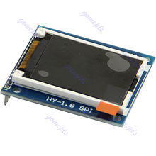 "SPI TFT LCD 1.8"" Serial Module Display + PCB Adapter Power IC SD Socket 128X160 #R179T#Drop Shipping(China)"