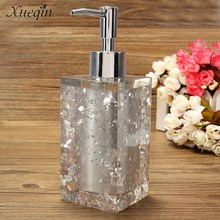 Xueqin Free Shipping 350ml Hotel Bathroom Liquid Soap Dispenser Hand Pump Body Lotion Shampoo Cosmetic Emulsion Empty Bottle