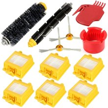 Replacement Roomba Parts for iRobot Roomba 700 760 770 780 790 Robotic Vacuum Cleaner 12PCS (with 2 side brushes)