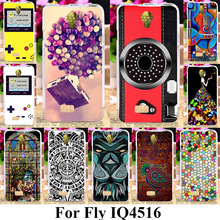 AKABEILA Silicon Phone Covers For Fly IQ4516 Gionee Elife S5.1/GN9005 IQ 4516 4.8 INCH Cases Cover Finger Camera Bags Back Shell(China)