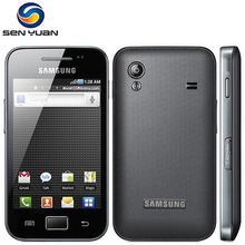 Original Samsung Galaxy ACE S5830 S5830i Cell Phone 3G Wifi GPS 5MP Camera Mobile Phone Free Shipping(China)