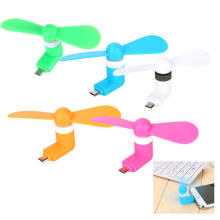 5Pin Micro USB Fan Portable Flexible Cooling Fan Mini Super Mute USB Cooler For Android phone USB Adapter Free Shipping