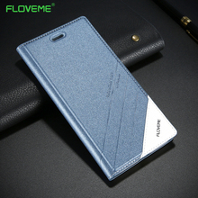 FLOVEME Case For iPhone 5s 5 SE Original Brand Luxury Leather Flip Cases For iPhone SE 5 5S Card Holder Shockproof Cover Coque(China)