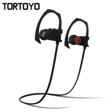 Q9 High Quality Neckband Wireless Bluetooth V4.1 Headphones Sports Ear Hook Earphone Running Headset Earbuds for All Smart Phone(China)