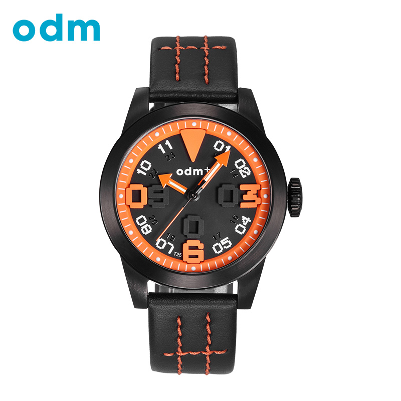 ODM Original Men Watches Sports Leather Canvas Military Watch for Gentle Men Male Quartz Wristwatches Relogio Masculino Reloj<br>