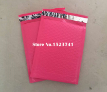 Big sale! 50pcs/pack 165*230mm Usable space Poly bubble Mailer envelopes Pink