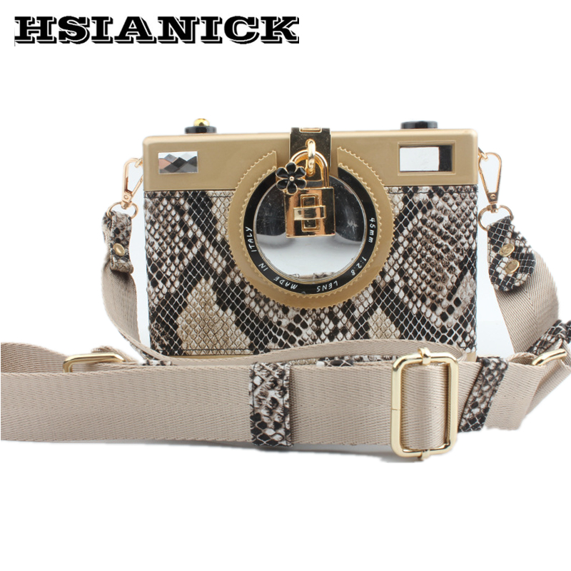 2017 ladies new retro high-end camera alligator design womens handbag fashion party dinner bag wholesale clutch evening bags<br>