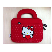 Cute Hello Kitty Carrying Soft Case Smart Cover bag/sleeve For apple iPad Mini 1 2 3  4 All in 7'' Inch Tablet PC case