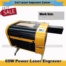 Laser Engraver 60W DSP Ruida System 400*600mm Laser Cutter Honeycomb work table