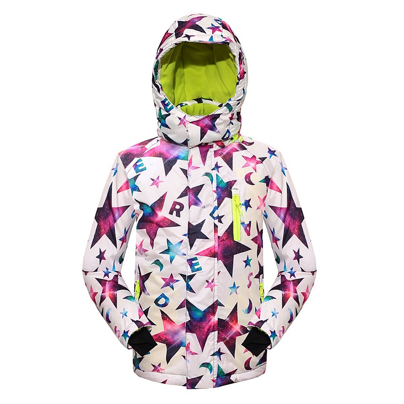 Children Outerwear Warm Coat Sporty Ski Suit Kids Clothes Waterproof Windproof Boys Girls Jackets For 5-14T<br>