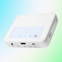 HaiWay H3000 Portable WiFi DLP Projector Android 4.4 Bluetooth 150LM 854x480 Pixels 1GB+8GB with USB TF Card Input